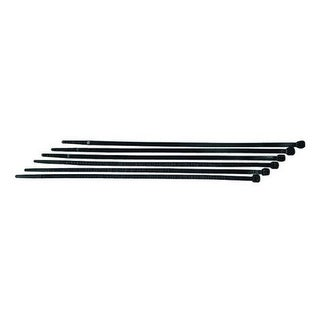 AUDIOP CT8BUV 8 Black Cable Ties - 100 Pack