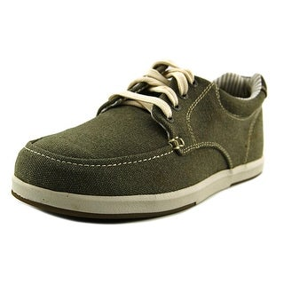 Sebago Mason Lace Up Men Round Toe Canvas Sneakers