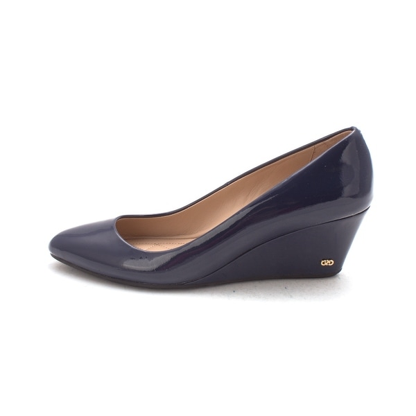 Cole Haan Womens Fritziesam Closed Toe Wedge Pumps - 6