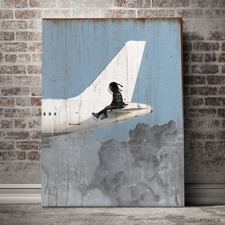 IKONICK Frequent Flyer Canvas Art