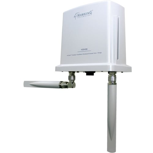 """""""Hawking Technology HOD45B Hawking IEEE 802.11n 600 Mbit/s Wireless Access Point - ISM Band - UNII Band - 2 x Antenna(s) - 2 x"""