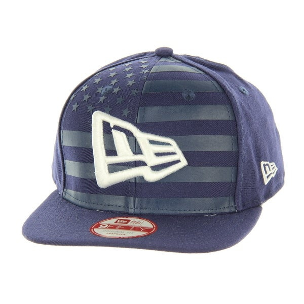 ce4df0998b9 Shop New Era USA Branded Flag Front 9FIFTY Original Fit Snapback Cap - Free  Shipping On Orders Over  45 - Overstock.com - 22799804