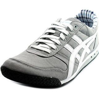 Onitsuka Tiger by Asics Ultimate 81 Men Round Toe Canvas Gray Fashion Sneakers