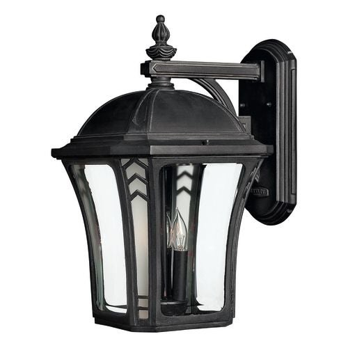 "Hinkley Lighting H1335 18.5"" Height 3 Light Lantern Outdoor Wall Sconce from the Wabash Collection"
