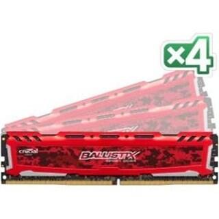 Crucial - Bls4k8g4d240fse - 32Gb 8X4gb Ddr4 2400 Pc4 19200