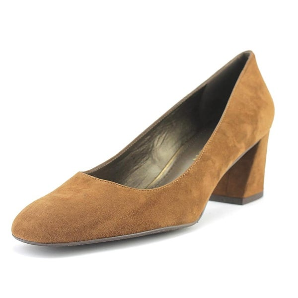 f44adc84753 Stuart Weitzman Marymid Women Round Toe Suede Brown Heels - Free Shipping  Today - Overstock.com - 25241734