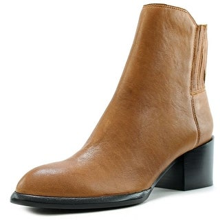 Calvin Klein Jeans Nenita Pullup Women Round Toe Leather Ankle Boot