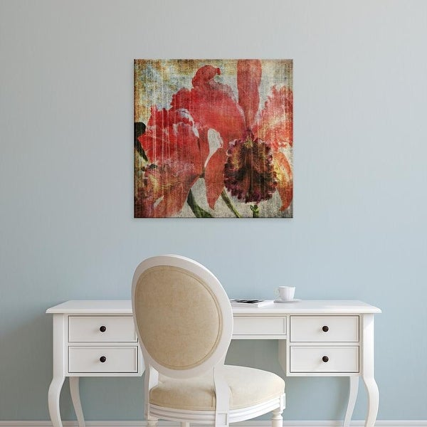 Easy Art Prints John Butler's 'Pacific Orchid I' Premium Canvas Art