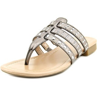 Style & Co Niamm Open Toe Synthetic Thong Sandal