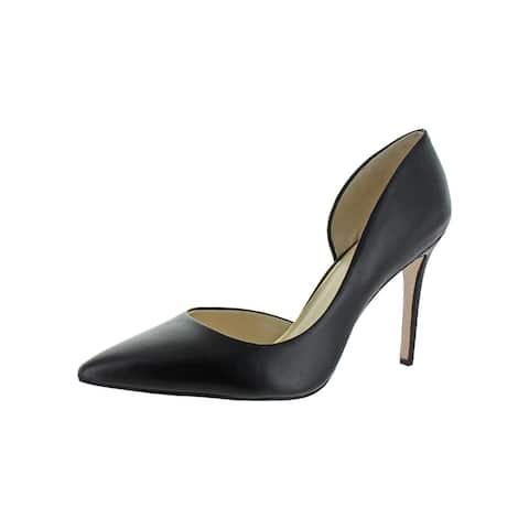 Jessica Simpson Womens Prizma D'Orsay Heels Leather Dressy