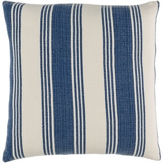 Decorative Cristopher Navy 18-inch Throw Pillow Cover