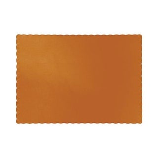 Group Pumpkin Spice Placemats, Pack of 12 - 50 Per Pack