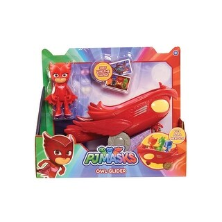 PJ Masks Vehicle: Owlette and Owl-Glider - multi