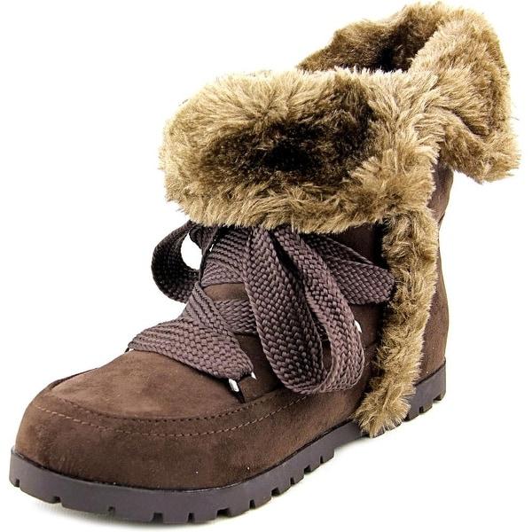 Indigo Rd. Boyston Women  Round Toe Synthetic Brown Winter Boot