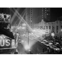 ''Hollywood Boulevard'' by Photography Collection Photography Art Print (23.5 x 31.5 in.)