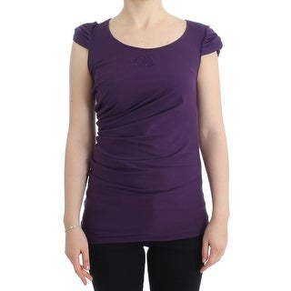 Cavalli Cavalli Purple Cotton Top