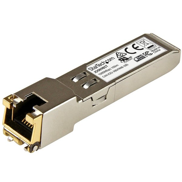 Startech Jd089bst Gigabit Rj45 Copper Sfp Transceiver Module Hp Jd089b Compatible