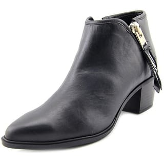 Steven Steve Madden Doris Men Pointed Toe Leather Black Bootie|https://ak1.ostkcdn.com/images/products/is/images/direct/05ae94307c51b29ad2f6de2ee52202c8263300d9/Steven-Steve-Madden-Doris-Round-Toe-Leather-Bootie.jpg?impolicy=medium
