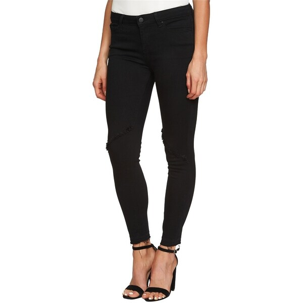 1.State Womens Frayed Skinny Fit Jeans. Opens flyout.