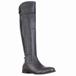 Franco Sarto Hydie Tall Riding Boots, Grey