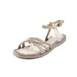 Dirty Laundry Buttermilk Women Open Toe Synthetic Sandals
