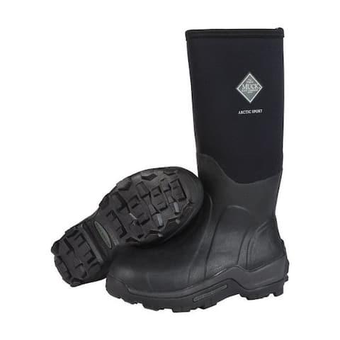 The Original Muck Boot Company Arctic Sport Men's Boots 11 US Black
