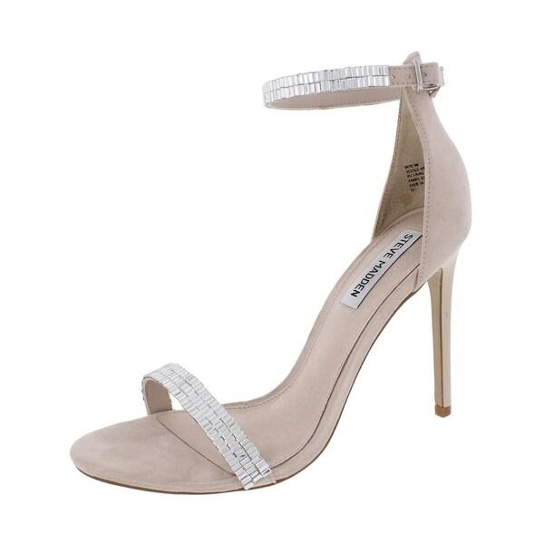 Steve Madden Womens Skye Dress Sandals Open Toe Stiletto