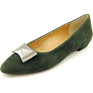 Vaneli Gaenor Women N/S Pointed Toe Suede Flats
