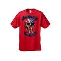 Men's T-Shirt USA Flag Skull Live Free Or Die Stars & Stripes Skeleton Bones Tee - Thumbnail 5