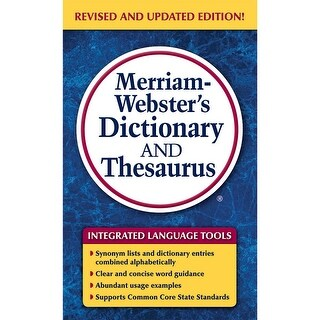 Merriam Websters Dictionary &