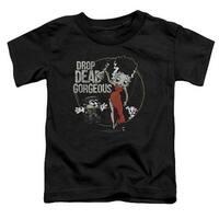 Betty Boop-Drop Dead Gorgeous - Short Sleeve Toddler Tee -