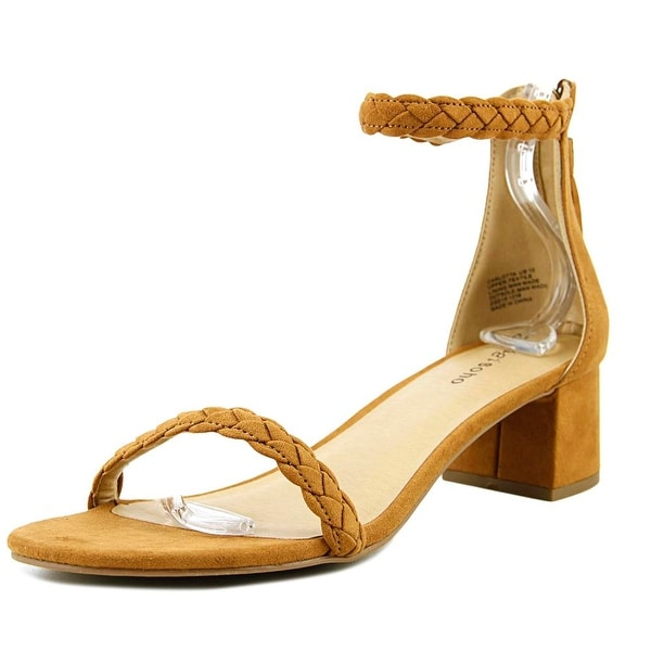 Zigi Soho Carlotta Women Open Toe Canvas Tan Sandals