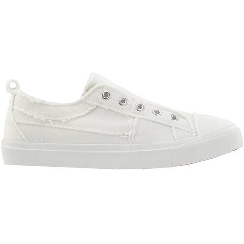 Corkys Babalu Slip On Womens Sneakers Shoes Casual - White