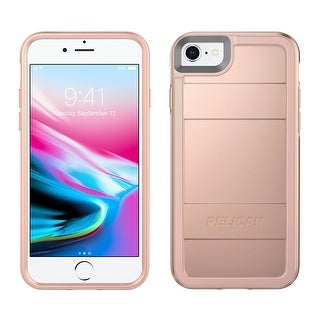 Pelican Cell Phone Case for iPhone 6/6s/7 & iPhone 8 - Metallic Rose Gold