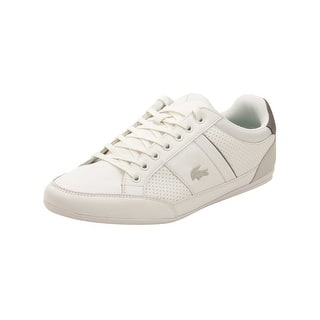 Lacoste Mens Chaymon 316 Sneakers in White/Light Grey|https://ak1.ostkcdn.com/images/products/is/images/direct/05b4e5ec484a9821f1fb05072138ed76581be91d/Lacoste-Mens-Chaymon-316-Sneakers-in-White-Light-Grey.jpg?impolicy=medium