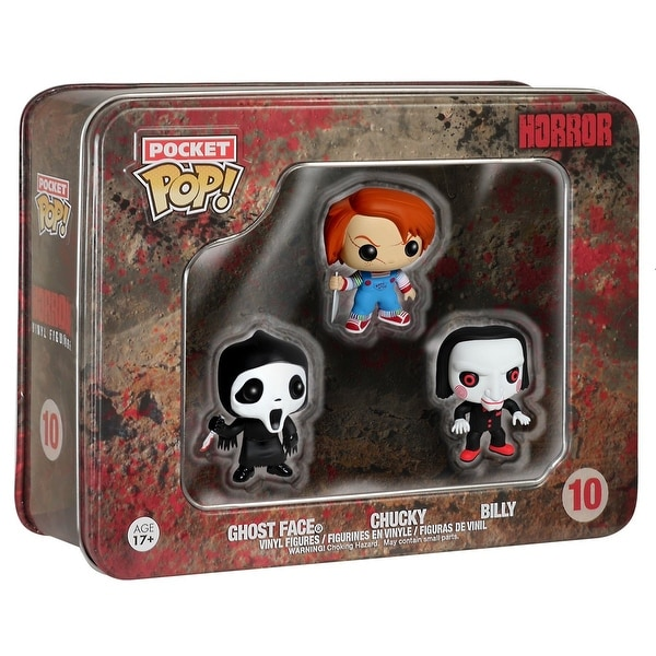 Pocket POP Horror Mini Figure Set: Ghostface, Chucky, Billy - multi