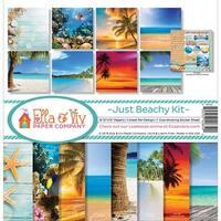 Ella & Viv by Reminisce EAV-859 Ella & Viv Just Beachy Scrapbook Collection Kit
