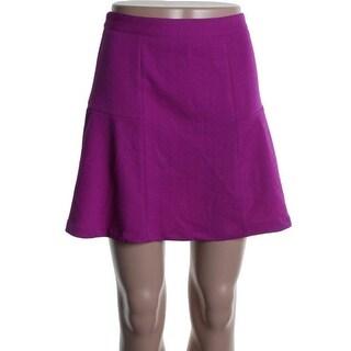 Minkpink Womens Textured Knee-Length A-Line Skirt - S