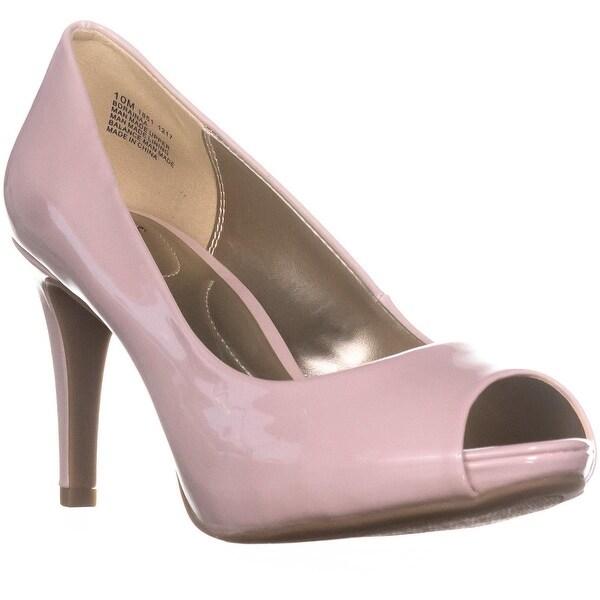 Bandolino Rainaa Peep Toe Pumps, Light Pink - 10 us