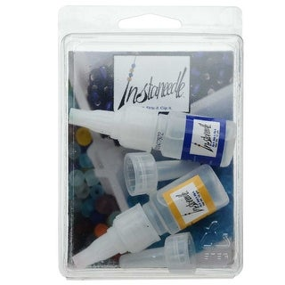 Link to BeadSmith InstaNeedle Kit, Create a Beading Needle from Thread, 1 Kit Similar Items in Jewelry & Beading