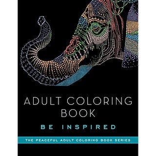 Skyhorse Publishing-Adult Coloring Book: Be Inspired