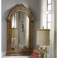 Hooker Furniture 638-50056 52 Inch Wide by 90-1/4 Inch Tall Hardwood Jewelry Mir - medium cream