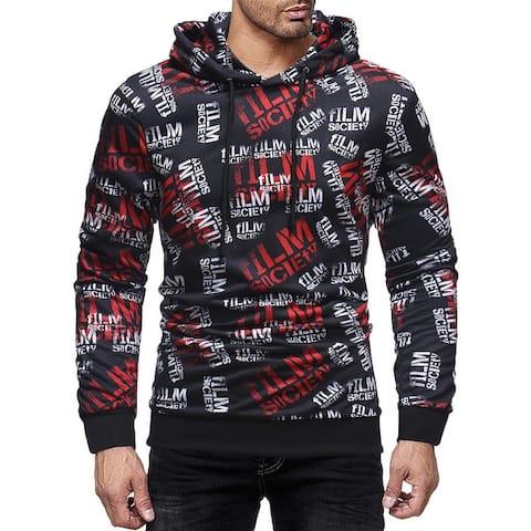 New Fashion Sleeve Print Men's Jacket Wholesale