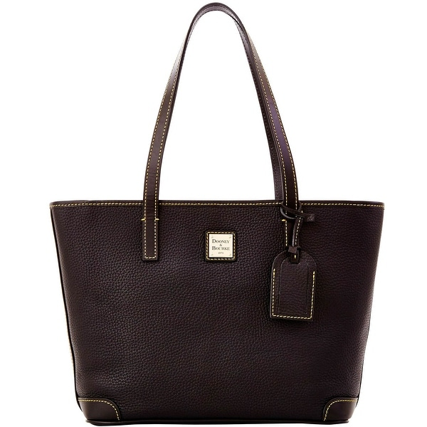 Dooney & Bourke Pebble Grain Charleston (Introduced by Dooney & Bourke at $198 in Oct 2012) - Black Black