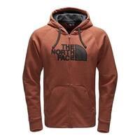 The North Face Men's Avalon Half Dome Full Zip Hoodie Brandy Brown/Alphalt Grey