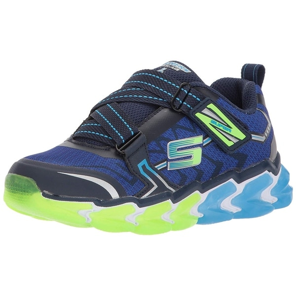 be789e4e9911 Shop Skechers Kids Boys' Skech-Air 4-Parsek Sneaker,Navy/Blue,2.5 M ...