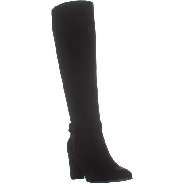 9005ae9b206 Shop Bandolino Bellow Chunky Heel Knee High Boots, Black - 5 US - On ...