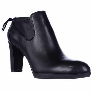 Franco Sarto Ignition Dress Ankle Booties - Black