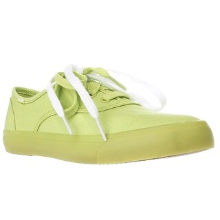 Keds Triumph Casual Lace Up Fashion Sneakers, Lime Punch