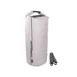 Overboard 418532 Waterproof Pack Bag, 40 Litre - White